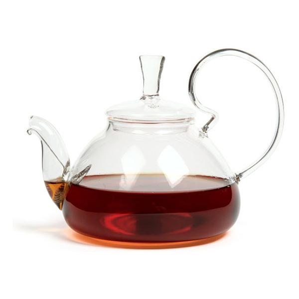 """Стеклянный заварочный чайник """"Клюква"""", 600 мл"""