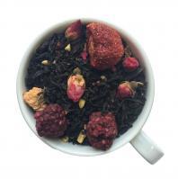 Черный чай Ореховая Фантазия