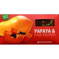 Шоколад горький с папайей и розовым перцем CHCO, 100г