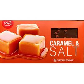 Шоколад молочный с карамелью и солью CHCO, 100г