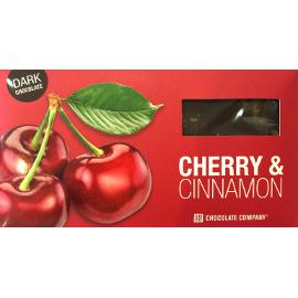 Шоколад горький с вишней и корицей CHCO, 100г