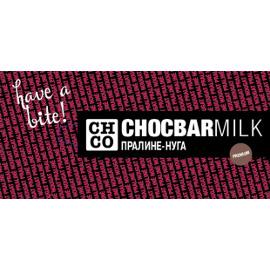 Шоколад молочный Пралине-Нуга CHCO, 100 гр