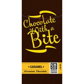 Шоколад горький с карамелью CHCO, 100 гр