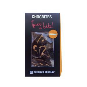 Шоколад молочный узорный дизайнерский Лепестки с апельсином CHCO, 100 гр