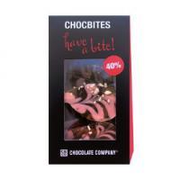 Шоколад молочный узорный дизайнерский Лепестки с клубникой CHCO, 100 гр