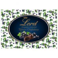 Шоколадные конфеты с начинкой Черная смородина LORD, 155гр
