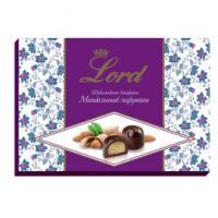 Шоколадные конфеты с начинкой Миндальный марципан LORD, 155гр