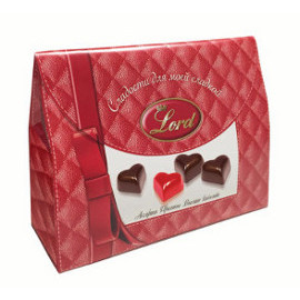 Шоколадные конфеты Сумочка LORD, 80 гр