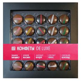 Шоколадные конфеты De LUXE с начинкой CHCO, 250 гр