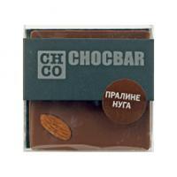 Шоколад молочный Пралине Нуга CHCO, 60гр