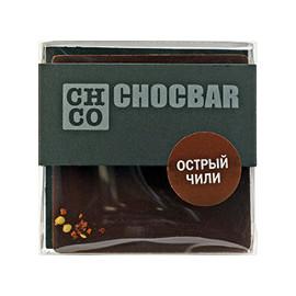 Шоколад темный Острый чили CHCO, 60гр