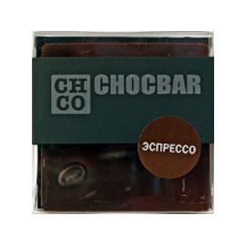 Шоколад темный Эспрессо CHCO, 60гр