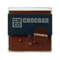 Шоколад молочный Карамель CHCO, 60гр
