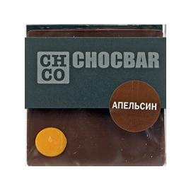 Шоколад темный Апельсин CHCO, 60гр