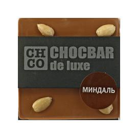 Шоколад молочный Миндаль  DE LUXE CHCO, 85 гр