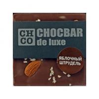 Шоколад молочный Яблочный штрудель  DE LUXE CHCO, 85 гр
