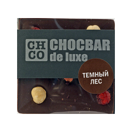 Шоколад темный Темный лес  DE LUXE CHCO, 85 гр