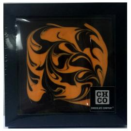 Шоколад темный дизайнерский с рисунком апельсин DE LUXE CHCO, 300 гр