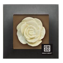 Шоколад молочный Роза белая  DE LUXE CHCO, 130 гр