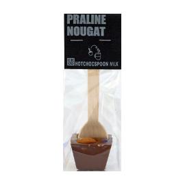 Шоколад молочный на ложке Пралине нуга CHCO, 50г