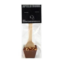 Шоколад молочный на ложке Яблочный штрудель CHCO, 50г