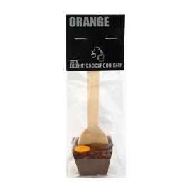 Шоколад темный на ложке Апельсин CHCO, 50г