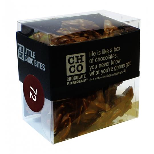 Дробленые орехи в темном шоколаде CHCO, 150гр