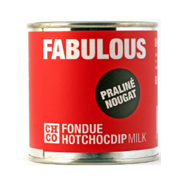 Шоколад молочный для фондю  Пралине-Нуга CHCO, 250 гр