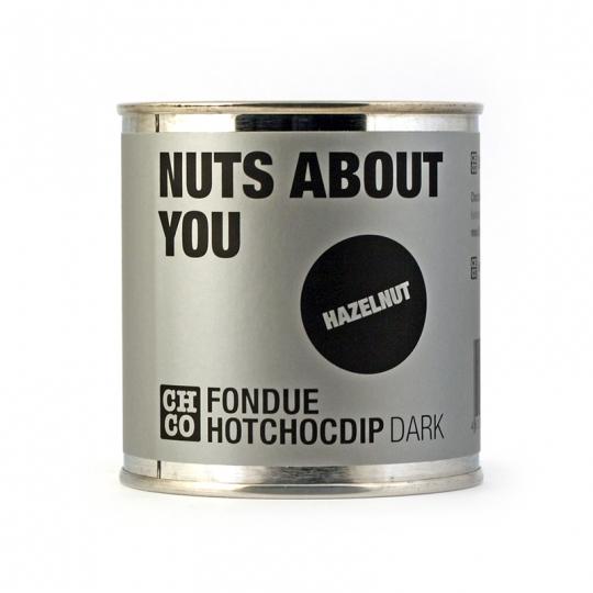 Шоколад темный для фондю  Лесной орех CHCO, 250 гр