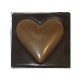 Шоколад молочный сердце шоколадное DE LUXE CHCO, 60 гр