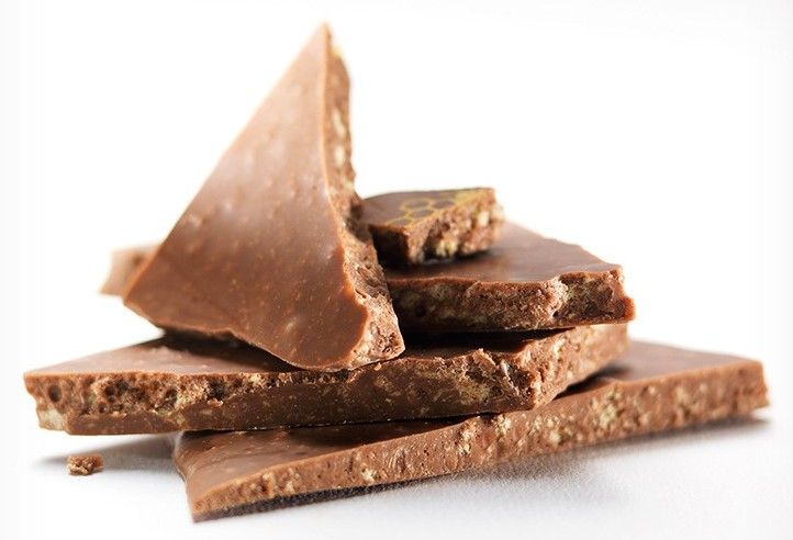 Шоколад молочно-темный (мед) LADERACH, 100г