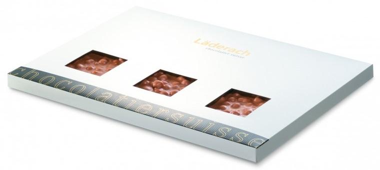 Шоколад молочный в коробке (фундук) LADERACH, 950г