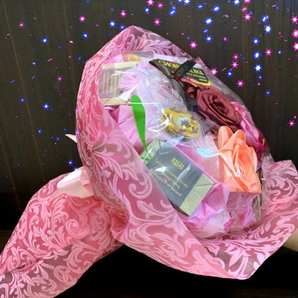 Чайный букет Фламинго