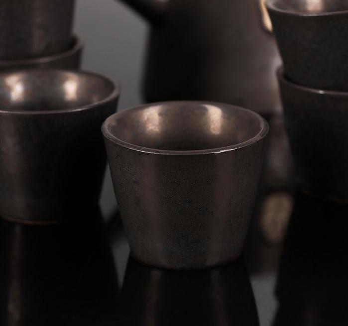 Набор для чайной церемонии Восход, 7 предметов: чайник 200 мл, чашка 50 мл