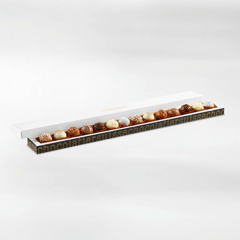 Трюфели ассорти - 14 штук LADERACH, 156г