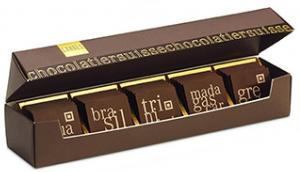 Шоколад мини - горький GRAND CRU LADERACH, 170г