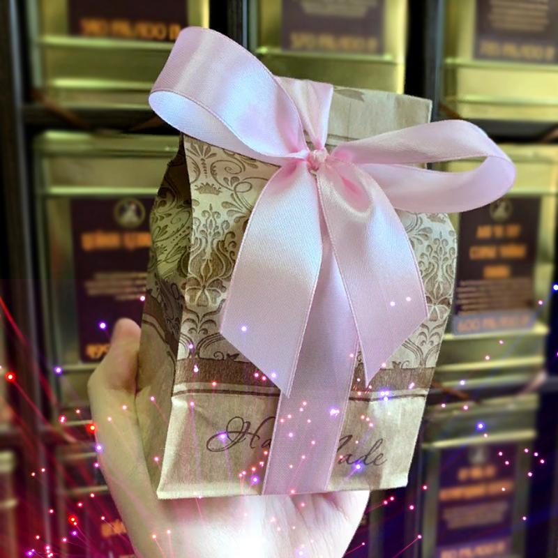 Чайный подарок Лиловая роза