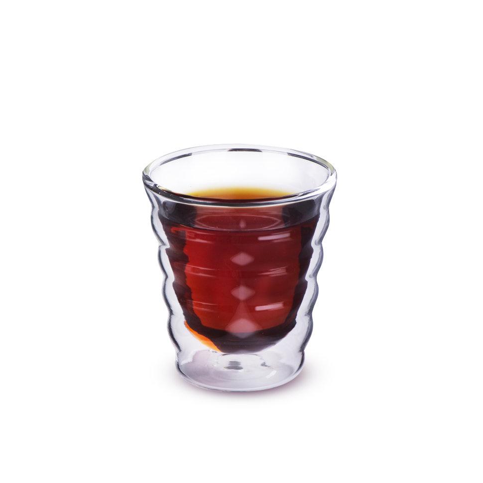 Необжигающая чашка  из жаропрочного стекла Тама, 180 мл