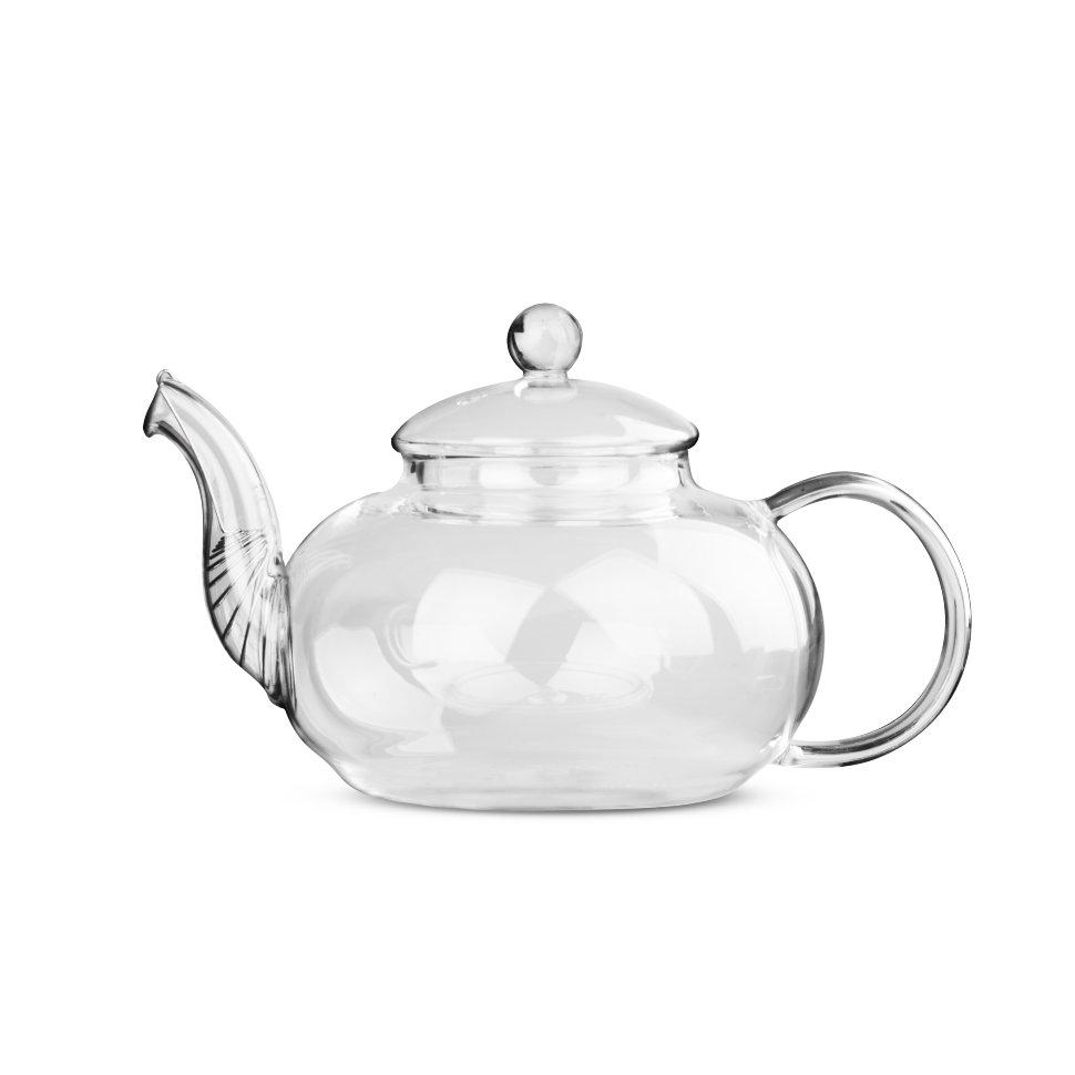 Чайник из жаропрочного стекла Смородина без заварочной колбы, 900 мл