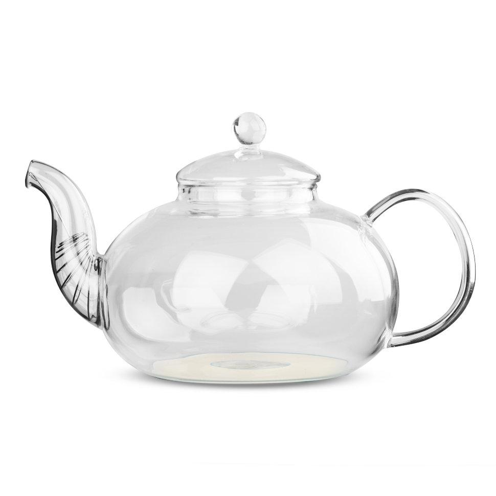 Чайник для варки из жаропрочного стекла Смородина (с металлизированным дном), 1500 мл