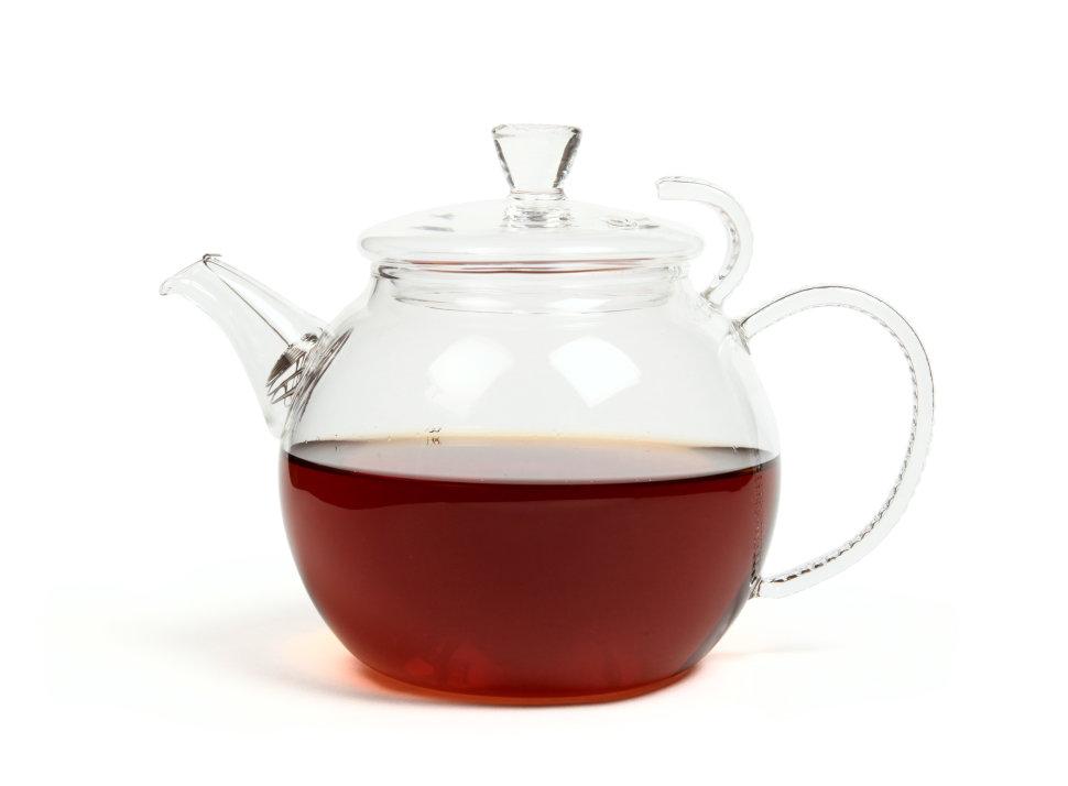 Чайник из жаропрочного стекла Грация (Босфор), 600мл