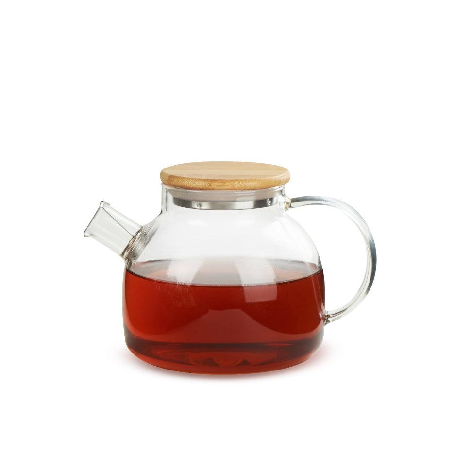 Чайник из жаропрочного стекла Бочонок, 500 мл