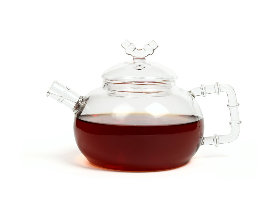 Чайник из жаропрочного стекла Бамбук, 500 мл