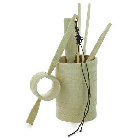 Инструменты для чайной церемонии (бамбук, большой)