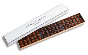 Шоколад PIERRE MARCOLINI, трюфель ассорти 54 шт, 309 гр