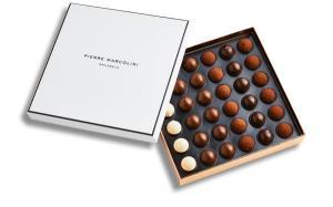 Шоколад PIERRE MARCOLINI, трюфель ассорти 36 шт, 200 гр