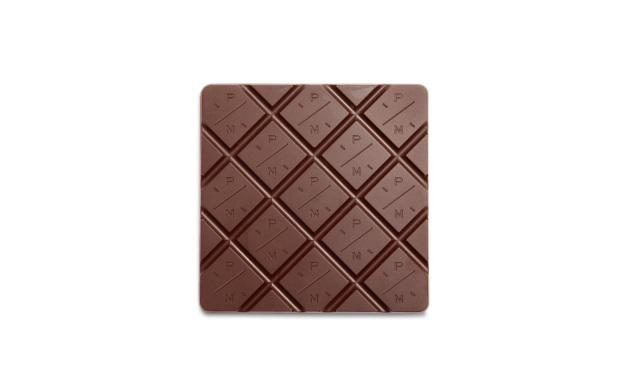 Шоколад плиточный PIERRE MARCOLINI, молочный с миндалем и нугой, 63 гр