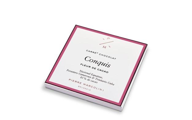 Шоколад плиточный PIERRE MARCOLINI, темный 85%, 63 гр