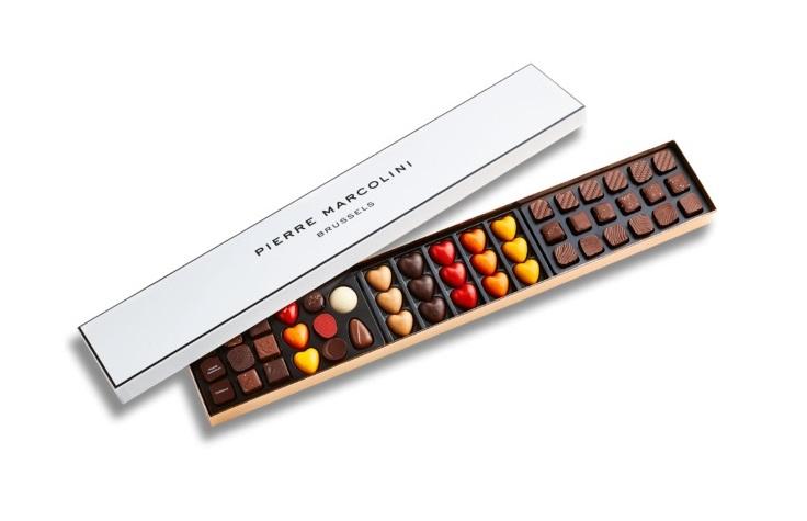 Шоколад PIERRE MARCOLINI, XL BOX D'COUVERTE ассорти, 331,5 гр