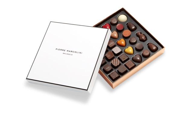 Шоколад PIERRE MARCOLINI, MALLINE DÉCOUVERTE ассорти, 222 гр